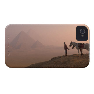 Africa, Egypt, Cairo, Giza, Giza pyramids at iPhone 4 Cover