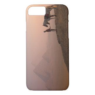 Africa, Egypt, Cairo, Giza, Giza pyramids at iPhone 8/7 Case