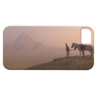 Africa, Egypt, Cairo, Giza, Giza pyramids at iPhone SE/5/5s Case