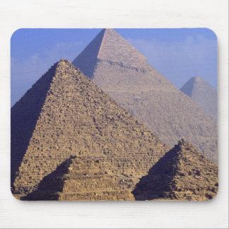 Africa Egypt Cairo Giza Great pyramids Mousepads