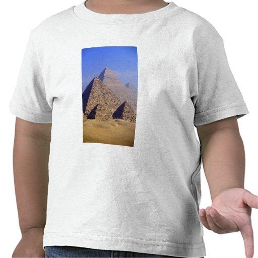 Africa, Egypt, Cairo, Giza. Great pyramids T Shirts