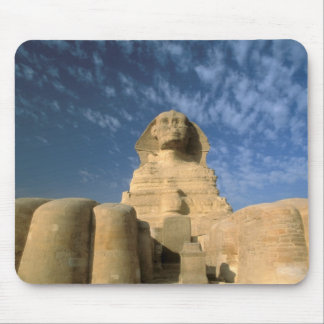 Africa, Egypt, Cairo, Giza Plateau. Sphinx Mouse Pad