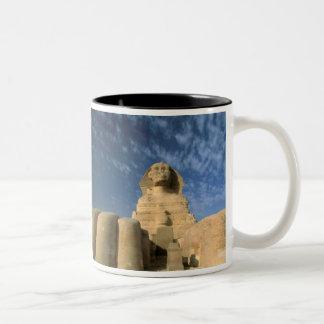 Africa, Egypt, Cairo, Giza Plateau. Sphinx Coffee Mug
