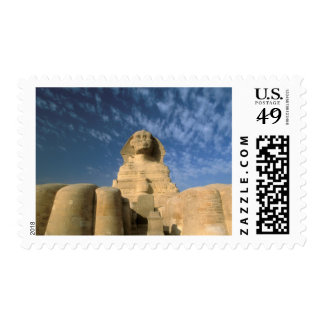 Africa, Egypt, Cairo, Giza Plateau. Sphinx Postage
