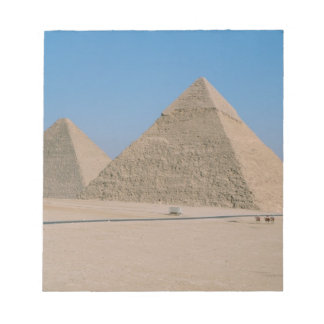 Africa - Egypt - Cairo - Great Pyramids of Giza, Notepad