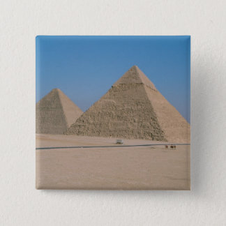 Africa - Egypt - Cairo - Great Pyramids of Giza, Pinback Button