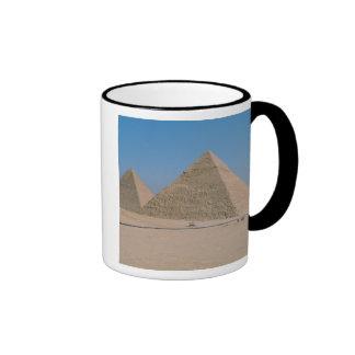 Africa - Egypt - Cairo - Great Pyramids of Giza, Ringer Mug