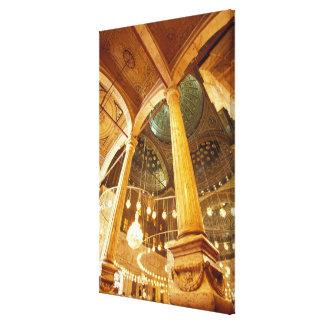 AFRICA, Egypt, Cairo, Muhammad Ali Mosque Canvas Print