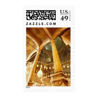 AFRICA, Egypt, Cairo, Muhammad Ali Mosque Postage Stamp
