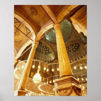 AFRICA, Egypt, Cairo, Muhammad Ali Mosque Poster