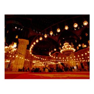 Africa, Egypt, Cairo, Muhammad Ali Mosque, The Postcard