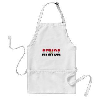Africa Egypt flag logo Eagle emblem gifts Adult Apron