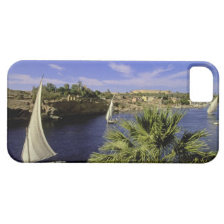 Africa, Egypt, Upper Egypt, Aswan. Feluccas 2 iPhone SE/5/5s Case