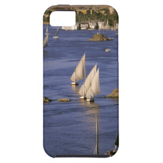 Africa, Egypt, Upper Egypt, Aswan. Feluccas iPhone SE/5/5s Case