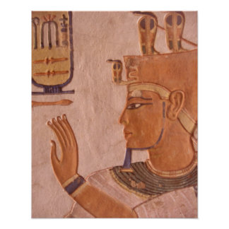Africa, Egypt, Valley of the Kings. Tomb wall Poster
