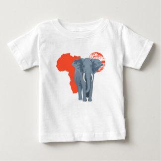 Africa Elephant Baby T-Shirt