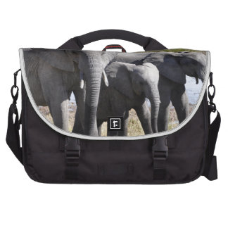 Africa Elephant Herds Commuter Bags
