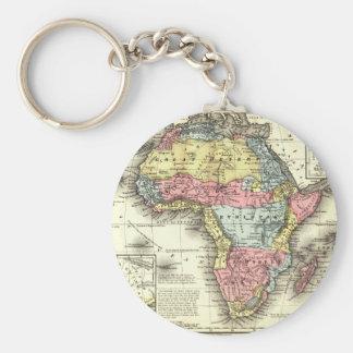 África en 1867 llavero redondo tipo pin
