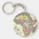 África en 1867 llaveros personalizados