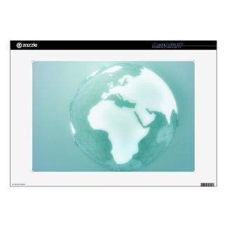 África en el globo calcomanías para 38,1cm portátiles