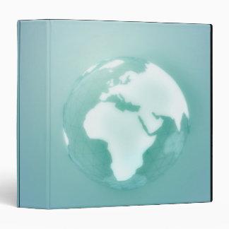 """África en el globo carpeta 1 1/2"""""""