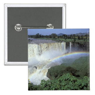Africa, Ethiopia, Blue Nile River, Cataract. 2 Button