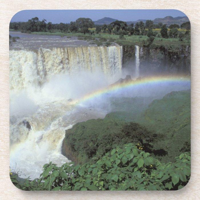 Africa, Ethiopia, Blue Nile River, Cataract. 2 Drink Coaster