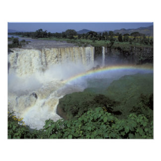 Africa, Ethiopia, Blue Nile River, Cataract. 2 Poster