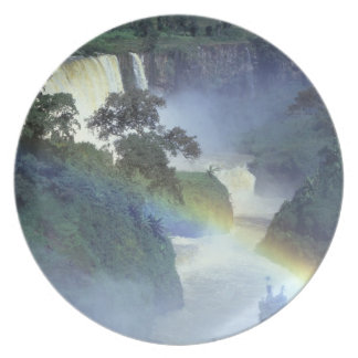 Africa, Ethiopia, Blue Nile River, Cataract. Party Plates