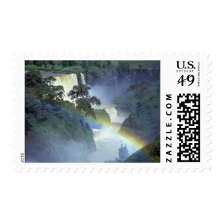 Africa, Ethiopia, Blue Nile River, Cataract. Postage Stamp