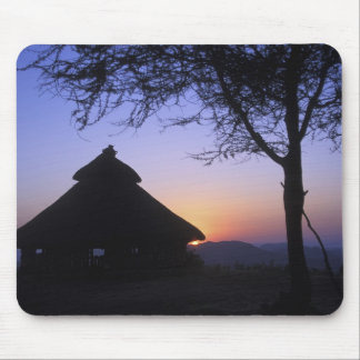 Africa, Ethiopia, Omo river region, Sunset over Mouse Pad