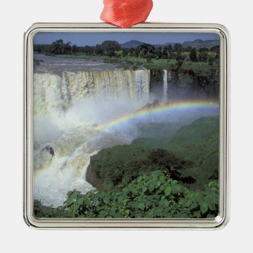 África, Etiopía, el río Nilo azul, catarata. 2 Ornatos