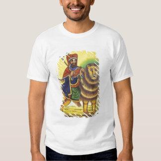 África, Etiopía. Ilustraciones que representan el Remeras