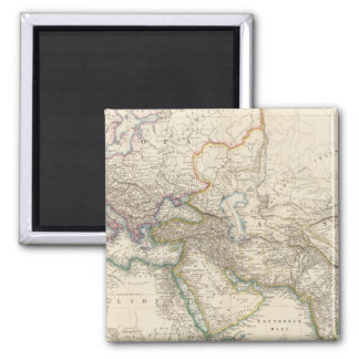 Africa, Europe and western Asia Atlas Map Magnet