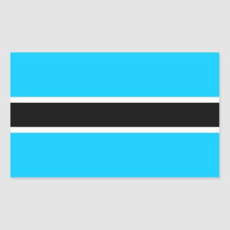 Africa: Flag of Botswana Sticker