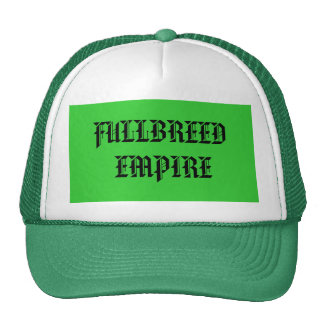 AFRICA, FULLBREED EMPIRE HATS