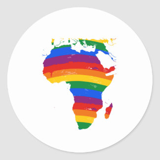 AFRICA GAY PRIDE STICKERS