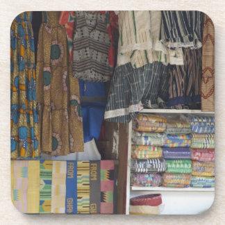Africa, Ghana, Accra. Accra Textile & Handicraft Drink Coaster