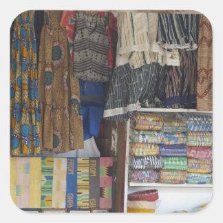 Africa, Ghana, Accra. Accra Textile & Handicraft Stickers