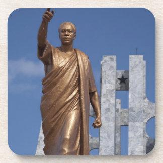 África, Ghana, Accra. Mausoleo de Nkrumah, final Posavasos De Bebida