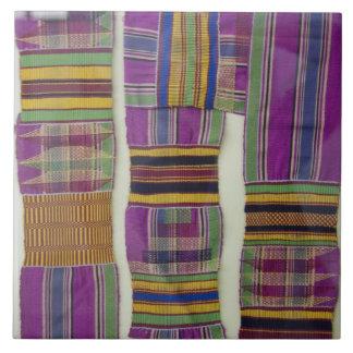 África, Ghana, Accra. Museo Nacional, mirado Azulejo Cuadrado Grande