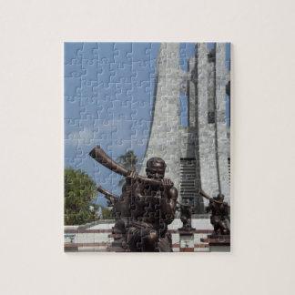 Africa, Ghana, Accra. Nkrumah Mausoleum, final 2 Jigsaw Puzzle