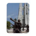 Africa, Ghana, Accra. Nkrumah Mausoleum, final 2 Rectangular Photo Magnet