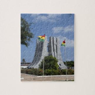 Africa, Ghana, Accra. Nkrumah Mausoleum, final 3 Jigsaw Puzzle