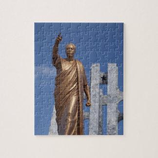 Africa, Ghana, Accra. Nkrumah Mausoleum, final Jigsaw Puzzle