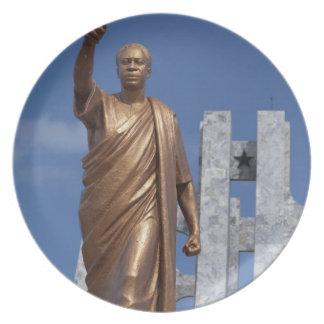 Africa, Ghana, Accra. Nkrumah Mausoleum, final Plate
