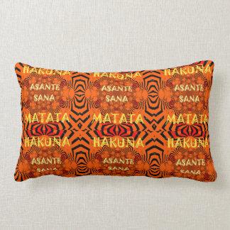 Africa Glorious urban fantastic Thank-you design Lumbar Pillow