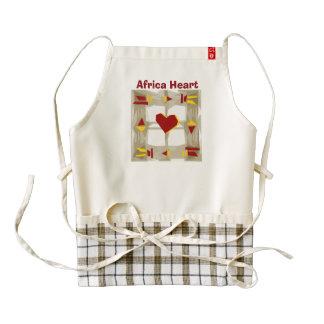 Africa Heart benefit project Zazzle HEART Apron