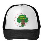 Africa hello Jambo clock face Hats