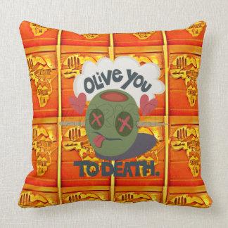Africa I love You Throw Pillow